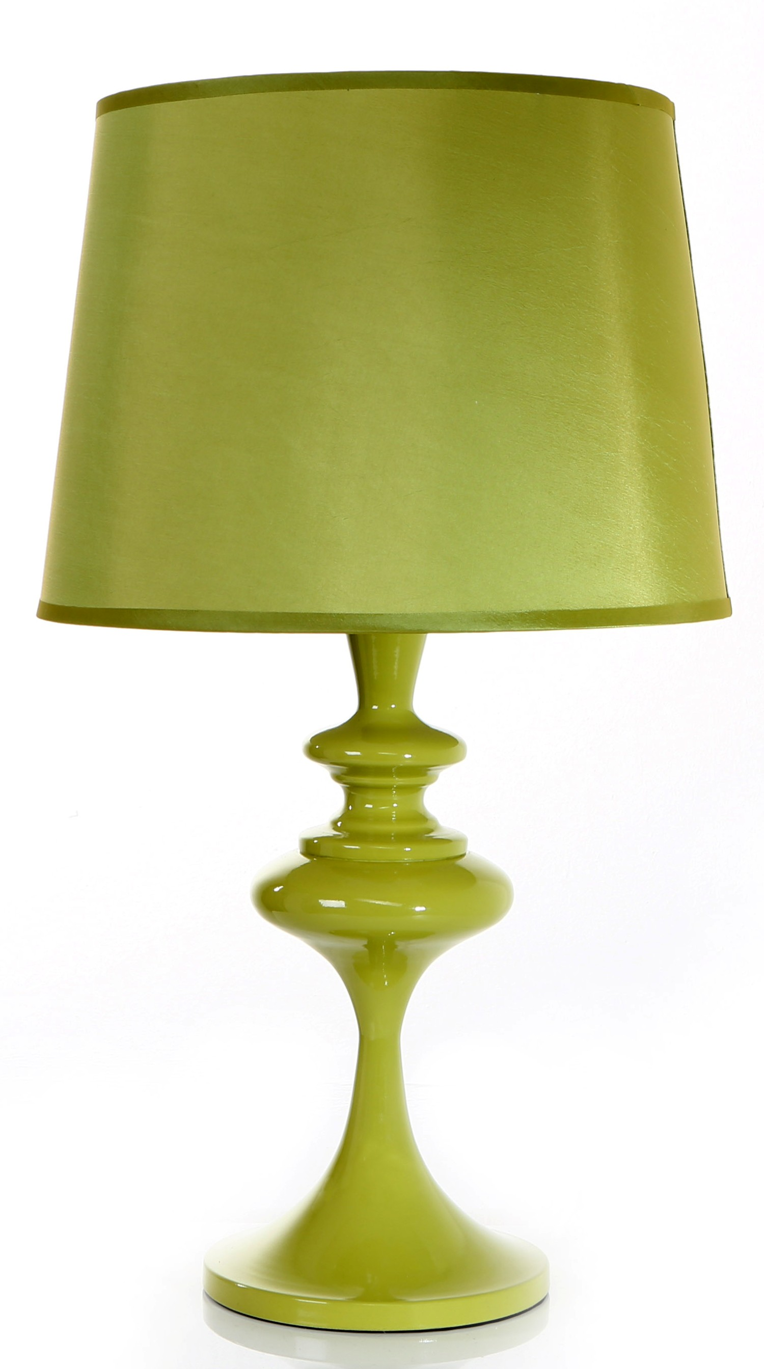 Retro metal table lamps c w shade lime mozeypictures Choice Image